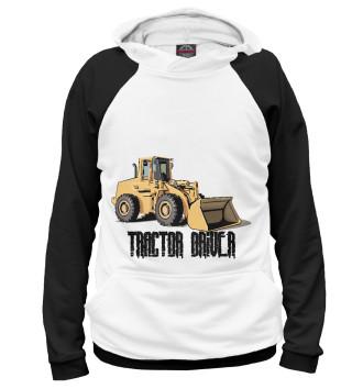 Женское Худи Tractor driver