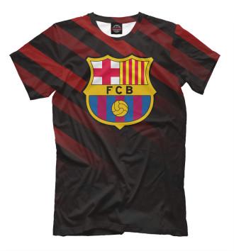 Мужская Футболка ФК Барселона