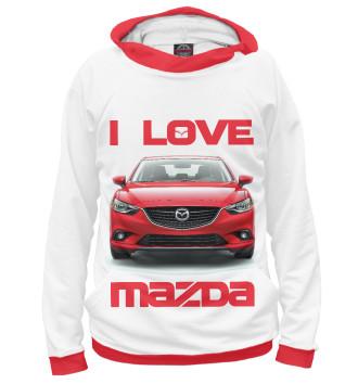 Женское Худи I love MAZDA