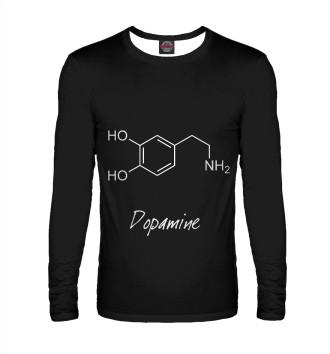 Мужской Лонгслив Химия Дофамин