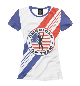 Женская Футболка American Top Team