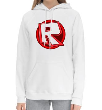 Женский Хлопковый худи Roblox Logo