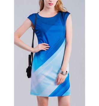 Женское Платье без рукавов Линии