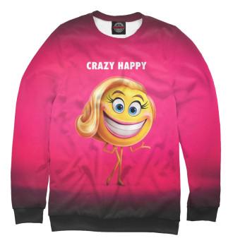 Женский Свитшот Crazy Happy