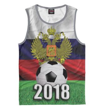 Мужская Майка Футбол 2018