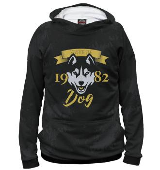 Женское Худи Год собаки — 1982