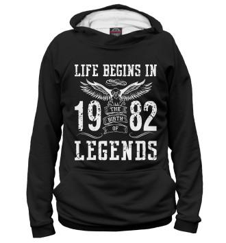 Мужское Худи 1982 - рождение легенды