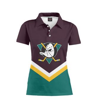 Женское Поло Anaheim Ducks