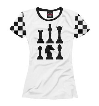 Женская Футболка Chess
