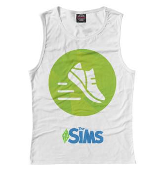 Женская Майка The Sims Фитнес