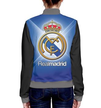 Женский Бомбер Real Madrid