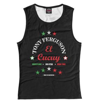 Женская Майка Tony Ferguson El Cucuy