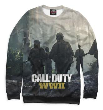 Женский Свитшот Call of Duty: WWII