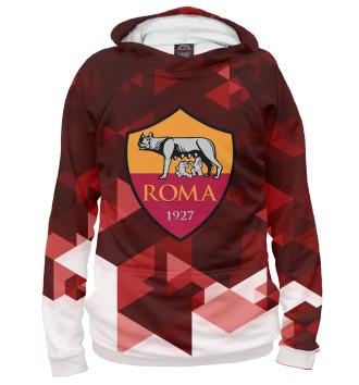 Мужское Худи Roma FC Abstract