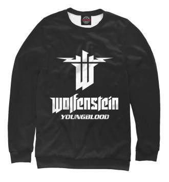 Мужской Свитшот Wolfenstein: Youngblood