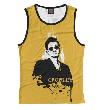 Женская Майка Crowley