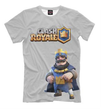Мужская Футболка Clash Royale
