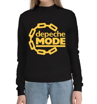 Женский Хлопковый свитшот Depeche Mode