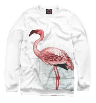 Женский Свитшот Фламинго