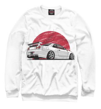 Женский Свитшот Nissan Skyline