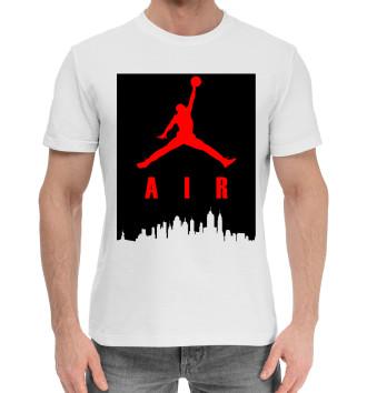 Мужская Хлопковая футболка Michael Jordan