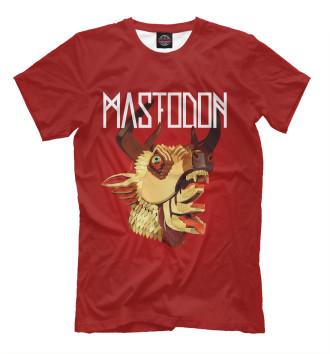 Мужская Футболка Mastodon