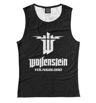 Женская Майка Wolfenstein: Youngblood