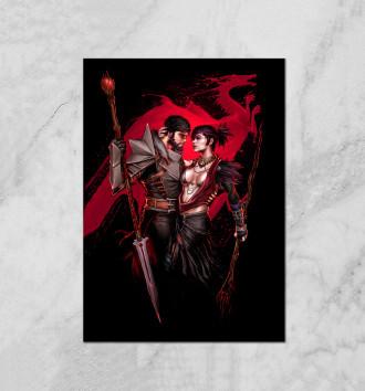 Dragon Age. Морриган и Хоук