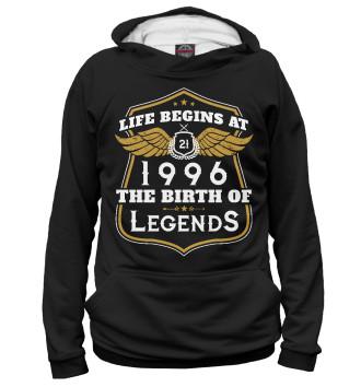 Мужское Худи 1996 - рождение легенды