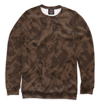 Мужской Свитшот Brown Camouflage