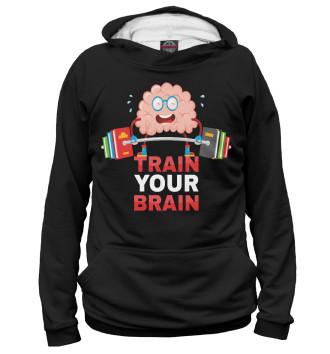 Женское Худи Train your brain