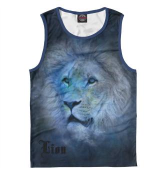 Мужская Майка Lion