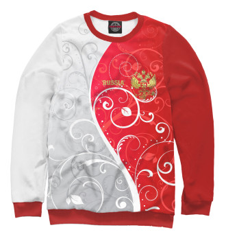 Мужской Свитшот Узоры с гербом