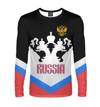 Мужской Лонгслив Россия