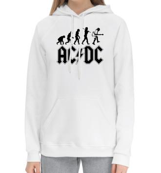 Женский Хлопковый худи AC/DC