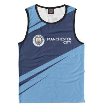 Мужская Майка Manchester City