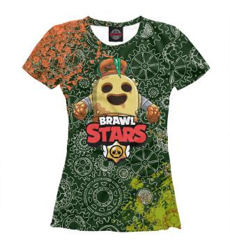 Футболка для девочек Brawl Stars Spike