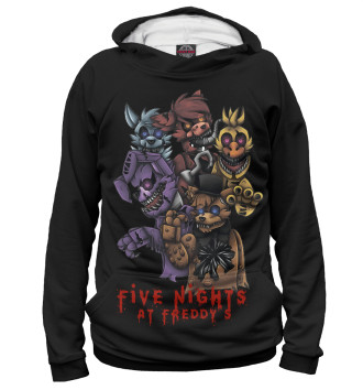 Мужское Худи Five Nights at Freddy's