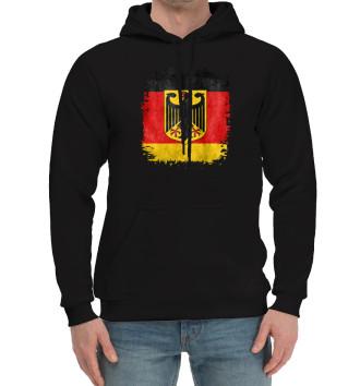 Мужской Хлопковый худи Флаг Германии