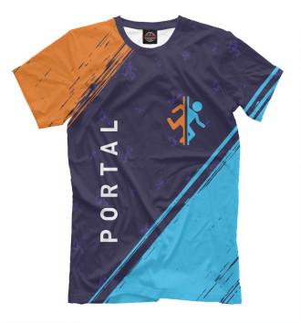 Мужская Футболка Portal / Портал