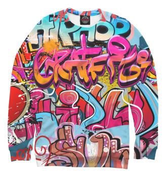 Мужской Свитшот Граффити