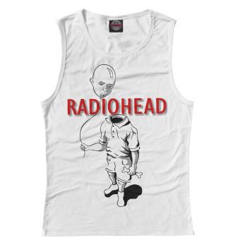 Женская Майка Radiohead