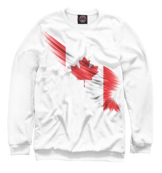 Женский Свитшот Свободная Канада