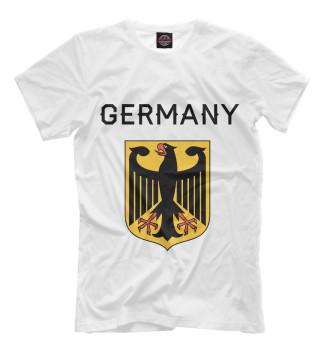Мужская Футболка Germany