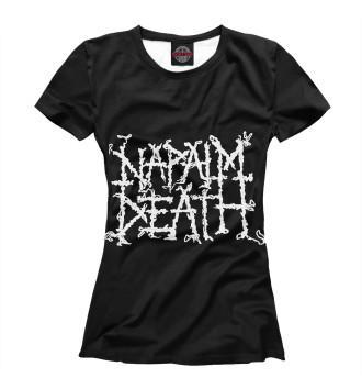 Женская Футболка Napalm Death