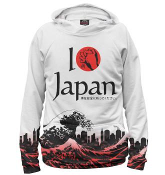 Женское Худи Pray for Japan