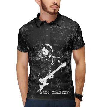 Мужское Поло Eric Clapton