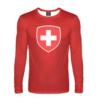 Мужской Лонгслив Сборная Швейцарии