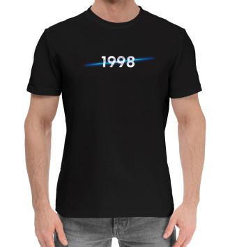Мужская Хлопковая футболка Год рождения 1998