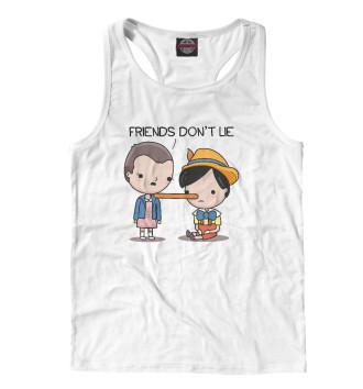 Мужская Борцовка Friends Don't Lie